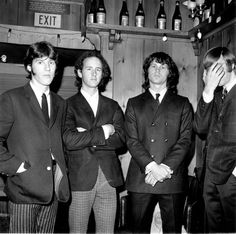 The Doors 20532 Hd Wallpapers Good God, Jim's in a suit! :D