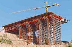 PERI form, bridge construction in Portugal