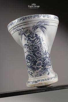 Victorian Activus Floral Patterned Toilet
