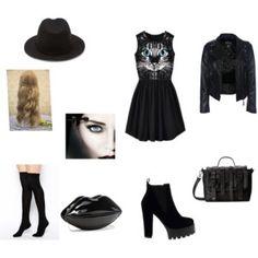 """On wednesday we wear black"""