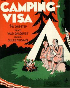 Camping-Visa, 1931 (ill.: Wiborgh); ref. 14899