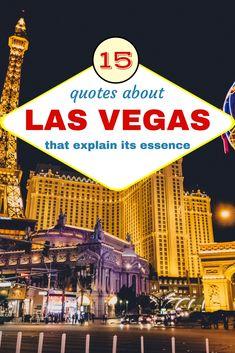 Famous Las Vegas Sayings