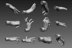 Image result for 3D model hand