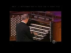 "Richard Elliott, organist for the Mormon Tabernacle Choir, is one of the best organists in the world, here he is playing his jazzy arrangement of the African-American spiritual ""Swing Low, Sweet Chariot."""