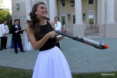 Double Barrel Marshmallow Shooter heads to Prom!