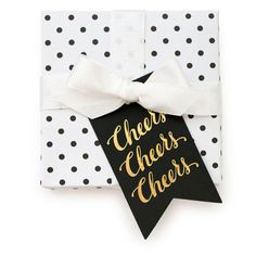 "Sugar Paper ""Cheers"" Tags"