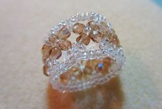 My Daily Bead: Champagne Ring ~ Seed Bead Tutorials