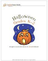 Printable Book of Halloween Activities for Grades K-2