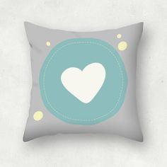 Corazón con Burbuja | Estampable