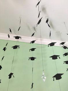 Graduación fiesta decoraciones  decoración de casquillo de la