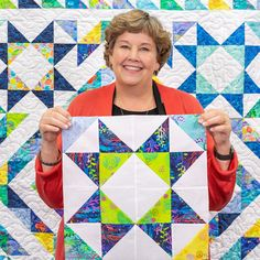 Quilting should be fun and we give you easy quilting projects, quick quilting how-to tutorials, and commentary to keep you smiling till the very last stitch. Star Quilt Blocks, Star Quilt Patterns, Star Quilts, Scrappy Quilts, Easy Quilts, Missouri Star Quilt Pattern, Missouri Quilt Tutorials, Quilting Tutorials, Quilting Projects