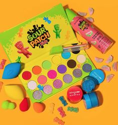 Makeup News: Morphe x Sour Patch Kids Makeup Collection Drops The new Morphe x Sour Patch Kids Makeup Collection is now available. Included in the special limited-edition makeup collection are makeup products inspired by Sour Patch Kids candy. Here is everything in the Morphe x Sour Patch Kids Makeup Collection: Morphe x Sour Patch Kids Sour Then Sweet Artistry Palette ... Makeup News, Sour Patch Kids, Kids Makeup, Beauty News, Beauty Industry, Morphe, Makeup Collection, Patches, Palette