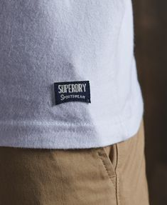 Mens - Limited Edition Embroidery T-Shirt in Optic   Superdry Skirt Leggings, Superdry Mens, Signature Logo, Men's Collection, Sports Women, Sportswear, Embroidery, Sweatshirts, T Shirt