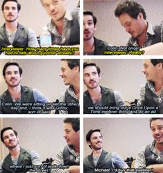 Colin and Michael Ouat Cast, Serie Tv, Killian Jones, Colin O'donoghue, Captain Hook, Movies Showing, Once Upon A Time, Hollywood, People
