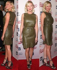 Kirsten Dunst in Remarkably Ugly Salvatore Ferragamo Sandals
