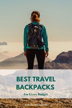 Looking for the Best Travel Backpacks for your needs and budget? Here are some of the top picks on quality Travel Backpacks for every budget. #travelpacks #backpack #travelbackpack #luggage #travel