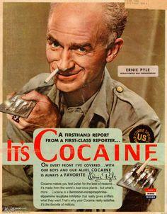 Cocaine??  It's an SNDRI.  Better than SSRI's.