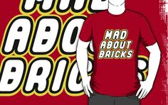 MAD ABOUT BRICKS by Customize My Minifig