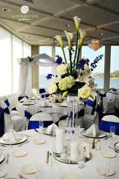 My Photo Album | Winter wedding flowers, White centerpiece and ...