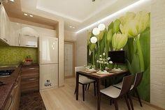 Желто-зеленая кухня - Babyblog.ru