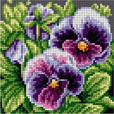 This Pin was discovered by Agn Cross Stitch Cushion, Small Cross Stitch, Cross Stitch Rose, Cross Stitch Flowers, Counted Cross Stitch Kits, Cross Stitch Charts, Cross Stitch Designs, Cross Stitch Patterns, Hand Embroidery Stitches