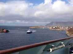 norge#hurtigruten#glad#april#brønnøysund