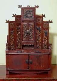Antique Personal Shrine