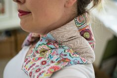 DIY Heating Pad for Shoulders and Neck #beginnersewingprojects #beginnersewing #heatingpad #sewingtutorials