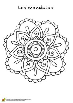 this board inspired by Mandala Design, Mandala Art, Mandala Pattern, Easy Mandala Drawing, Mandala Coloring, Colouring Pages, Coloring Books, Flower Henna, Flower Mandala