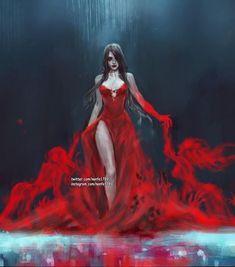 Dark Fantasy Art, Fantasy Girl, Fantasy Artwork, Female Character Design, Character Art, Fantasy Characters, Female Characters, Female Demons, Beautiful Dark Art