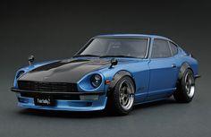 IG0652 1/18 Nissan Fairlady Z (S30) Light Blue | LINE UP | ignition model - すべてはミニチュアカーコレクターのために。