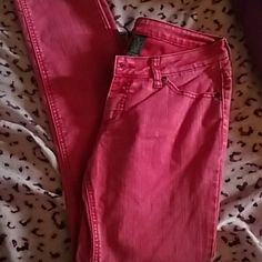 Pink Jeans Never worn, great condition City Streets Jeans Boot Cut