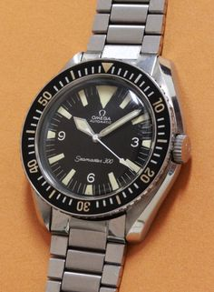 OMEGA Seamaster 300; nothing better than a vintage.