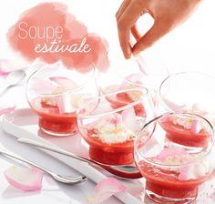 Recette de soupe estivale toute en fraîcheur et en délicatesse #recette #yum #blancheporte
