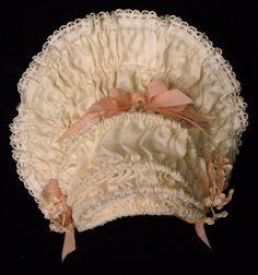 Wired Silk Bebe Bonnet