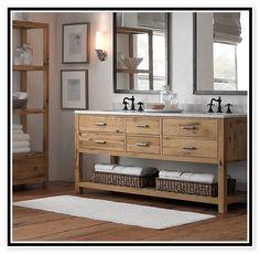 Rustic Modern Bathroom | Rustic Bathroom Vanities Cabinets