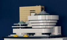 Guggenheim, a museum made of LEGO® pieces Lego News, Lego Architecture, Lego Pieces, Cool Lego, Museum, Blog, Blogging, Museums