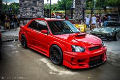 #Subaru_WRX #WideBody #Modified #ADV1_Wheels