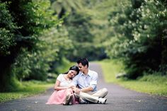 Andreas and Monicha's Engagement Shoot in Bali