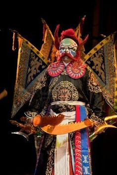 Picture of china opera clown stock photo, images and stock photography. Horse Costumes, Theatre Costumes, Chinese Opera, Chinese Art, Folk Religion, Lion Dragon, Opera Mask, China Travel Guide, Dragon Dance