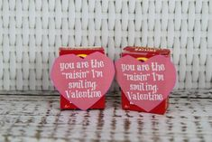 Raisin Valentine Healthy Sip Sip Hooray Valentines Day Silly Straw Craft Idea