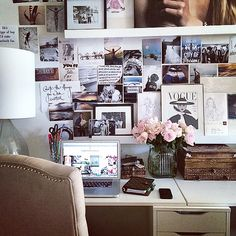 Home office. -SWx #samanthawills #nyc Join us http://instagram.com/samanthawills