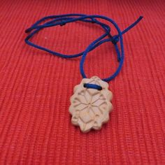 TerraCotta Oval Diffusing Necklace/Car or Room Air Freshener