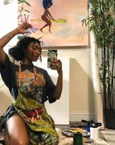 Beautiful Black Girl, Pretty Black Girls, Black Girl Art, Black Girl Magic, Black Girl Fashion, Mode Hippie, Hippie Man, Pretty People, Beautiful People