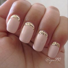 Sinful Colors- Easy Going & Milani- Gold #nails #sinfulcolors #milani #nailpolish
