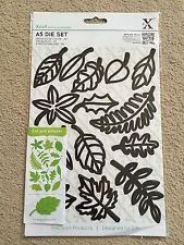 Xcut A5 14-Piece Leaves Die Set,new