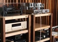 Merveilleux MOD Series Audio Racks Hifi Stand, Speaker Stands, Audio Rack, Audio  Furniture,