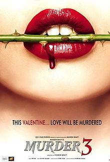 This might be one of the movies they would watch. It would give them ideas on their next murder. This might be Lady Macbeth biting a rose.