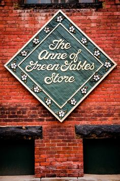 The Anne of Green Gables Store in Charlottetown PEI. That is some good lookin' brick.