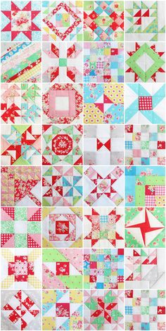 Pretty by Hand - quilt blocks. Farmers wife. Love the fabric !!